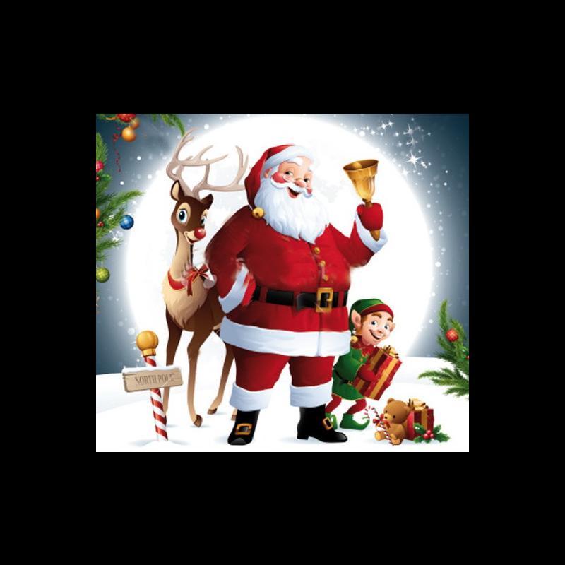 20, 22 e 24 Dicembre - In Giro con Santa Claus
